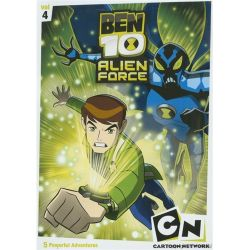 Ben 10: Alien F-rce - Volume Four (DVD 2009)