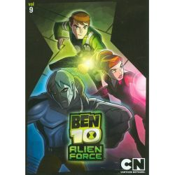Ben 10: Alien F-rce - Volume Nine (DVD 2010)