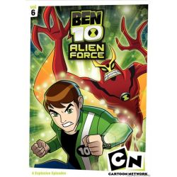 Ben 10: Alien F-rce - Volume Six (DVD 2009)