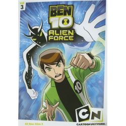 Ben 10: Alien F-rce - Volume Three (DVD 2008)