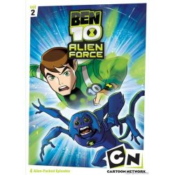 Ben 10: Alien F-rce - Volume Two (DVD 2008)
