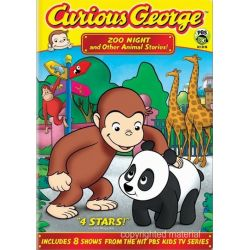 Curious George: Zoo Night And Other Animal Stories (DVD) Pozostałe
