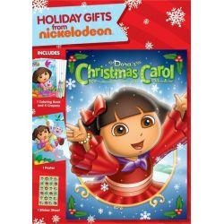 Dora The Explorer: Dora's Christmas Carol Adventure (Repackage) (DVD 2009)
