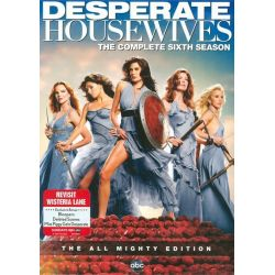 Desperate Housewives: The Complete Sixth Season - The All Mighty Edition (DVD 2009) Pozostałe