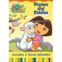 Dora The Explorer: Rhymes And Riddles (DVD 2003)