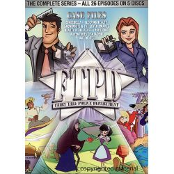 Fairy Tale Police Department: The Complete Series (DVD 2006) Pozostałe