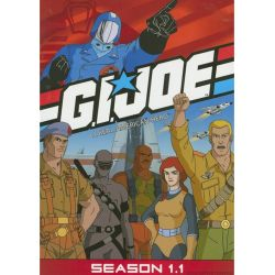 G.I. Joe: A Real American Hero - Season 1.1 (DVD 1985)