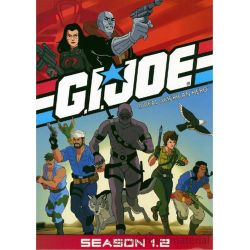 G.I. Joe: A Real American Hero - Season 1.2 (DVD 1985)