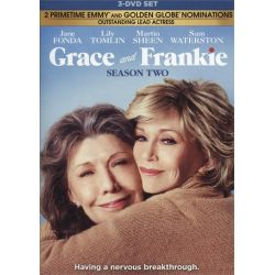 Grace And Frankie: Season Two (DVD 2016)