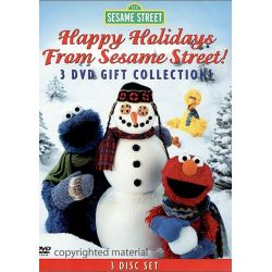 Happy Holidays From Sesame Street: 3 DVD Set (DVD)