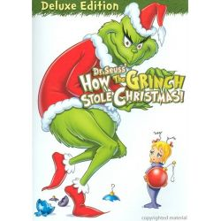How The Grinch Stole Christmas: Deluxe Edition (DVD 1966)