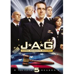 JAG: The Complete Fifth Season (DVD 1999)