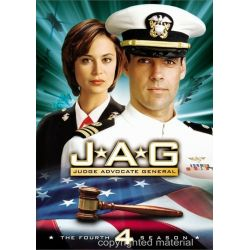 JAG: The Complete Fourth Season (DVD 1998)