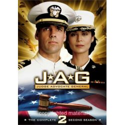 JAG: The Complete Second Season (DVD 1997)