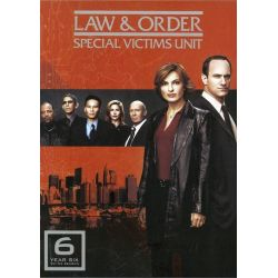 Law & Order: Special Victims Unit - The Sixth Year (DVD 2004)
