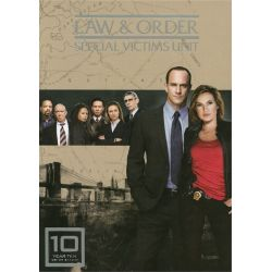 Law & Order: Special Victims Unit - The Tenth Year (DVD 2008) Pozostałe