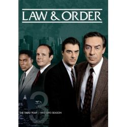 Law & Order: The Third Year (Repackage) (DVD 1992) Pozostałe