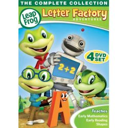 Leap Frog Letter Factory Adventures (DVD) Pozostałe