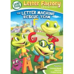 Leap frog: Letter Factory Adventures - The Letter Machine Rescue Team (DVD 2014)