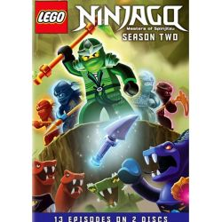 LEGO Ninjago: Masters Of Spinjitzu - Season Two (DVD)