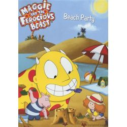 Maggie And The Ferocious Beast: Beach Party (DVD)