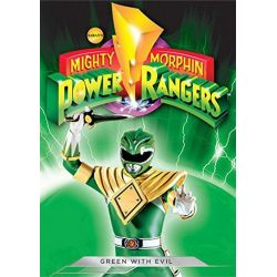 Mighty Morphin Power Rangers: Green With Evil (DVD)