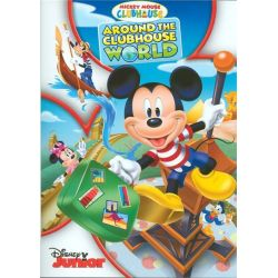 Mickey Mouse Clubhouse: Around The Clubhouse World (DVD) Pozostałe