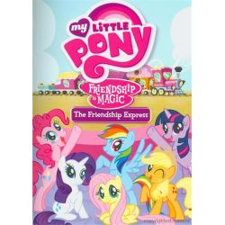 My Little Pony: Friendship Is Magic - The Friendship Express (DVD 2011)