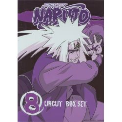 Naruto: Volume 8 - Special Edition Box Set  (DVD 2002)