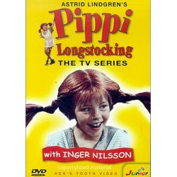 Pippi Longstocking: The TV Series (DVD 1968)
