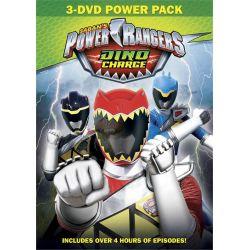 Power Rangers Dino Charge 3 DVD Set (DVD) Zagraniczne