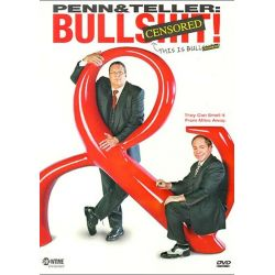 Penn & Teller: BS! The Complete Season 1 - Censored (DVD 2003)