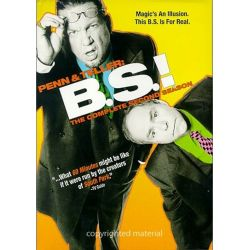 Penn & Teller: BS! The Complete Season 2 - Censored (DVD 2004)