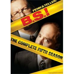 Penn & Teller: BS! The Complete Season 5 - Censored (DVD 2007)
