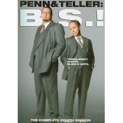 Penn & Teller: BS! The Eighth Season - Censored (DVD 2010)