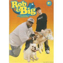 Rob & Big: The Complete Seasons 1 & 2 - Uncensored (DVD 2006)