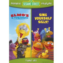 Sesame Street: Musical Adventure / Sing Yourself Silly! (Double Feature) (DVD) Pozostałe