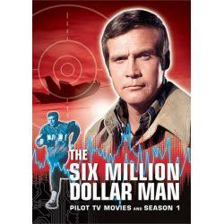 Six Million Dollar Man, The: Season 1 (DVD 1974) Pozostałe