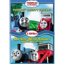 Thomas & Friends: Thomas' Trusty Friends / On Site With Thomas (DVD)