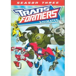 Transformers Animated: Season Three (DVD 2014)