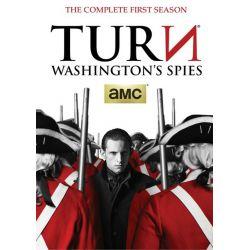Turn: Washington's Spies - The Complete First Season (DVD 2014)