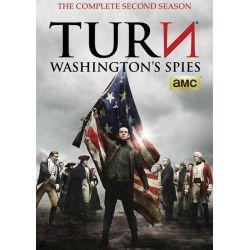 Turn: Washington's Spies - The Complete Second Season (DVD 2014)