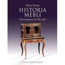Historia mebli - Michael Huntley - Książka