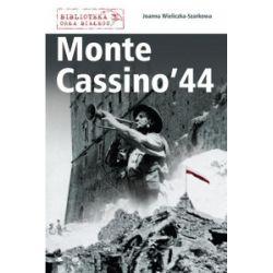 Monte Cassino '44 - Joanna Wieliczka-Szarkowa - Książka Pozostałe