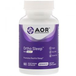 Advanced Orthomolecular Research AOR, Ortho Sleep with Cyracos, 60 Vegetarian Capsules Pozostałe