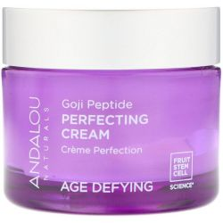 Andalou Naturals, Perfecting Cream, Goji Peptide, Age Defying, 1.7 fl oz (50 ml) Pozostałe