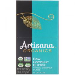 Artisana, Organics, Raw Coconut Butter, 10 Packets, 1.06 oz (30.05 g) Each Pozostałe