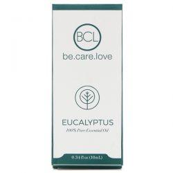 BCL, Be Care Love, 100% Pure Essential Oil, Eucalyptus, 0.34 fl oz (10 ml)