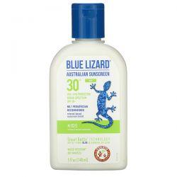 Blue Lizard Australian Sunscreen, Kids, Mineral-Based Sunscreen, SPF 30+, 5 fl oz (148 ml)