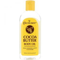 Cococare, Cocoa Butter Body Oil, 8.5 fl oz (250 ml) Pozostałe